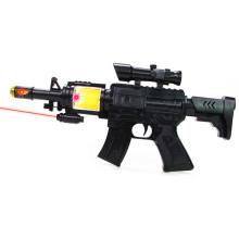 Kinderplastikinfrarotelektrisches Gewehr-Spielzeug mit dem Blinken