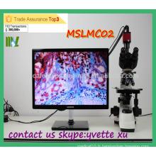 MSLMC02 Microscope biologique rentable Prix binoculaire binoculaire bon marché