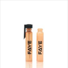 Tubo de prueba de cristal del perfume al por mayor de 1ml 2ml 3ml con el empaquetado del casquillo de Pp