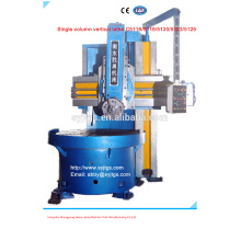 Single Column Vertical Lathe price for sale in stock offered by China large Vertical Lathe manufacture