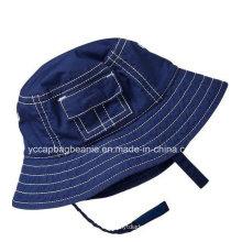 Boy Denim Bucket Hat, Menino Verão Hat