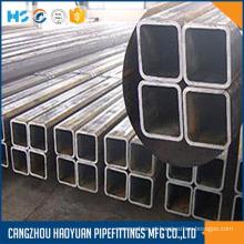 Tubulação de aço quadrada EN10219 ASTM A500 JIS G3466