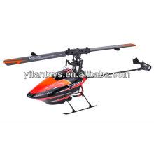 V922 Flybarless mini 3D 2.4G RC helicóptero 6CH helicóptero de controle remoto único hélice