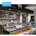 High Quality Fruits And Vegetables Shelving Shelves Wood Metal Display Grocery Vegetable Rack Shelf Supermarket Gondola