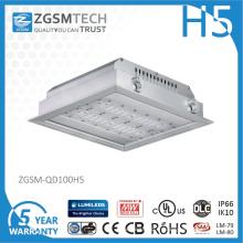 Lumière de station service de 100 watts LED avec le capteur de mouvement