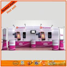 fournisseur de grand stand de tissu d'exposition en Chine