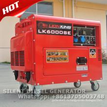 Генератор 5kw тепловозный молчком генератор цена с CE и сертификат GS