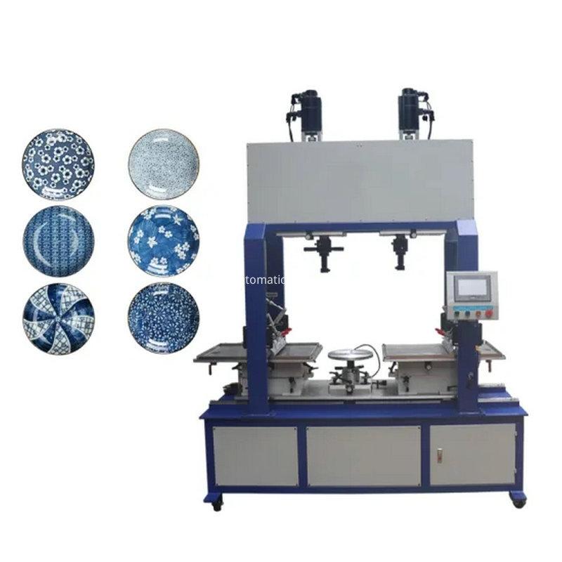 2 Color Ceramic Bowl Cup Dish Pad Printing Machine 11