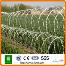 hot-dipped blade razor wire