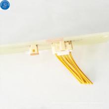 10-poliger elektrischer rechtwinkliger JAM-Kabel-zu-Platine-Steckverbinder