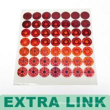 Bunter Druckaufkleber einschließlich entfernbaren Aufkleber und dauerhaften Aufklebers