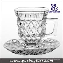 Ensemble de 5oz en verre pour thé ou café (TZ-GB09D1405ZS)