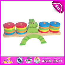 2014 New Wooden Kids Game Toys, Play Wooden Children Balance Game Toys, Hot Sale Balance Baby Wooden Game Toys W11f023