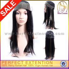 Kaufen Sie direktes Haar von China-indische Remy-vordere Spitze-Menschenperücken
