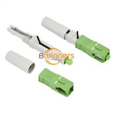 Connecteur rapide fibre optique SC APC