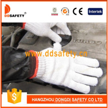 Calibre 7 con 2 hilos Bleach Cotton Work Gloves Dck702