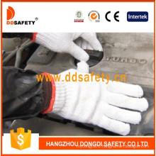 7 Gauge with 2 Threads Bleach Cotton Work Gloves Dck702