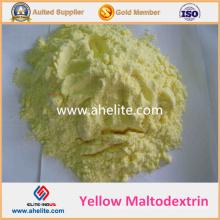 Preço de maltodextrina de maltodextrina amarelo natural em pó