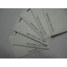 Tarjeta en blanco tarjeta de plástico tarjeta de plástico de impresión de la tarjeta