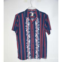 Camisa de manga corta casual de verano para hombre al por mayor