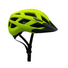 OEM-унисекс светодиодный велосипедный шлем с солнцезащитным козырьком