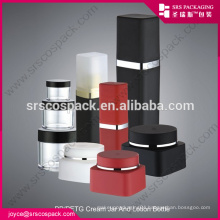 China 30ml 50ml White Square Shape Cream Jar For Cosmetic Packaging PP 30ml Bottle Packaging