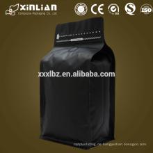 2015 heiße Verkaufsseite Zwickel stehen oben Beutelnahrung Grad Plastikverpacken Beutel mit Reißverschluss