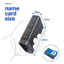 Potencia universal de cargador USB para computadora portátil y teléfono con 6 puertos USB