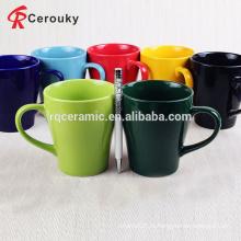 Круглая чашка для молока из высококачественного 300 мл чистого цвета
