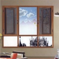 Aluminium Side Hung Fly Screen Window