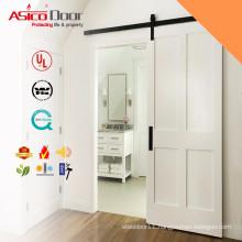 ASICO Solid Wood Interior Sliding Shower Barn Door For Bathroom