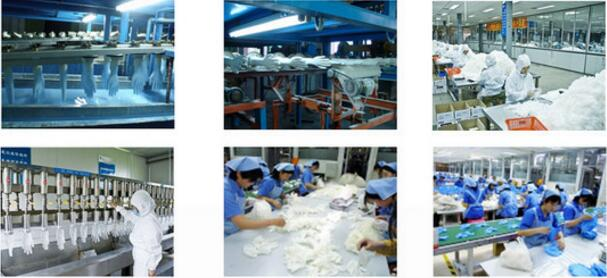 Nitrile gloves production