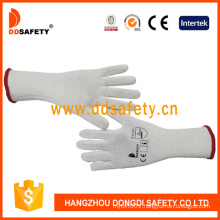 Long Cuff Cotton String Knitted Hand Safety Working Gloves