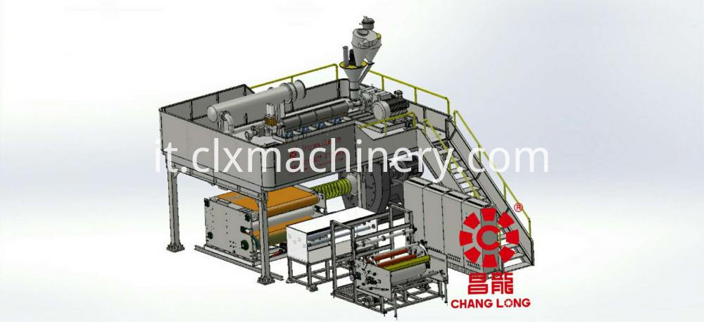 Meltblown Nonwoven Fabric Machine For Face Mask