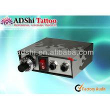 2013 Frühjahrssaison meistverkaufte graue Streifen Design Mikro-Anpassung Tattoo Stromversorgung und Stromquellen