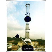 Hb-K36 2 * 8 Bâton de base de bras Arbre Perc Sphere Forme Verre Smoking Water Pipe