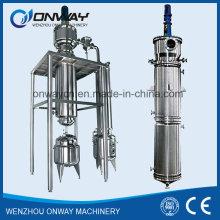Thin Film Distiller Vacuum Distillation Equipment Rotary Evaporator Used Cooling Oil Purification Machine