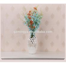 Classical European style flower vase ceramic beautiful flower pottery ceramic vase