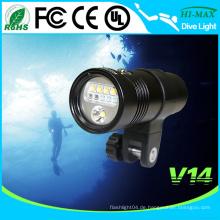 Professionelle Fotografie und Videografie LED Tauchen UV Licht