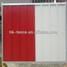 Venda quente Seam Mig-Welded Construction Site temporária açambarcamento painel