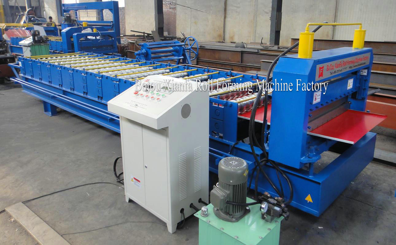 flat type panel machine