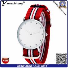 Yxl-258 New Hottest Luxury Brand Men Women Watches Nato Nylon Quartz Wrist Watch Unisex Clock Relogio Masculino Casual Military Diamond Dress Wristwatch