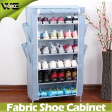 Armario alto plegable plástico del almacenamiento del gabinete de zapato para la venta