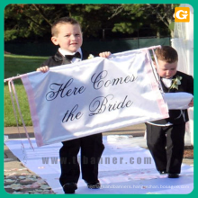 Customized Professional Good price of oem polyester banner