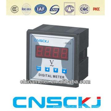 Hecho en el voltímetro digital 12v de Wenzhou