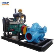 Bomba de agua diesel para agricultura de 8 pulgadas