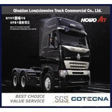 Трактор грузовик HOWO А7 6х4 420Л грузовик с прицепом