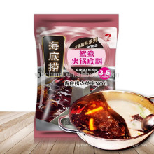Haidilao sabor Sichuan aroma sabor duplo tempero