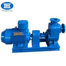 Self priming diesel fuel oil transfer pump