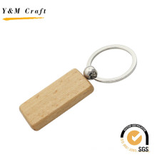 Прямоугольник деревянный брелок с высокое качество